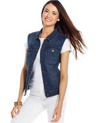 Abbigliamento esterno di jeans blu scuro