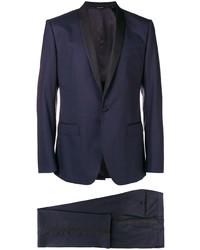 Abito a tre pezzi blu scuro di Dolce & Gabbana