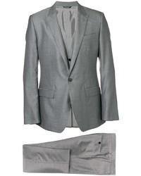 Abito a tre pezzi di lana grigio di Dolce & Gabbana