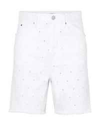 Bermuda di jeans bianca di Isabel Marant Etoile