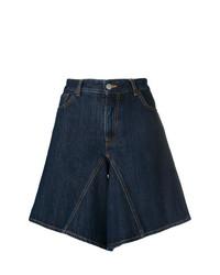 Bermuda di jeans blu scuro di MM6 MAISON MARGIELA