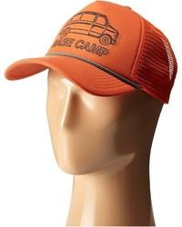 Cappellino con visiera arancione