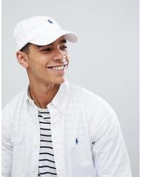 Berretto da baseball bianco di Polo Ralph Lauren