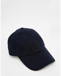 Berretto da baseball blu scuro di Calvin Klein