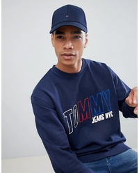 Berretto da baseball blu scuro di Tommy Hilfiger