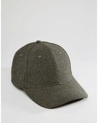 Berretto da baseball grigio scuro di Asos