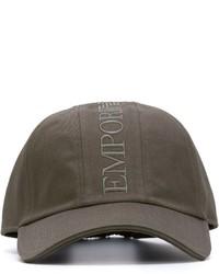 Berretto da baseball grigio scuro di Emporio Armani