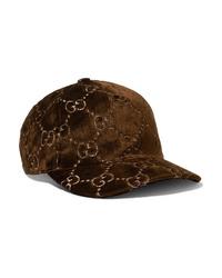 Berretto da baseball marrone scuro di Gucci