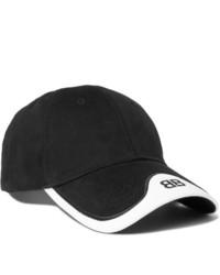 Berretto da baseball nero e bianco di Balenciaga