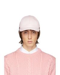 Berretto da baseball rosa di Thom Browne