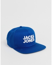 Berretto da baseball stampato blu di Jack & Jones