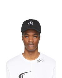 Berretto da baseball stampato nero e bianco di Axel Arigato