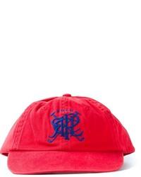 Berretto da baseball stampato rosso di Polo Ralph Lauren