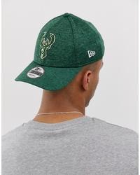 Berretto da baseball stampato verde di New Era