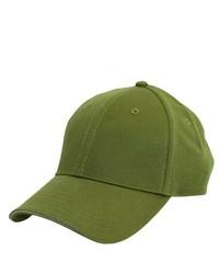 Berretto da baseball verde oliva
