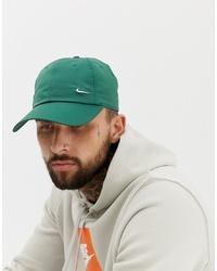 Berretto da baseball verde di Nike