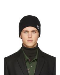 Berretto lavorata a maglia nera di Ps By Paul Smith