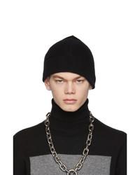 Berretto lavorata a maglia nera di Random Identities
