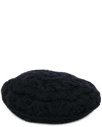 Berretto nero di Maison Michel
