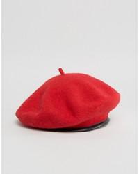 Berretto rosso di Asos