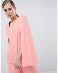 Blazer a mantella rosa di Lavish Alice