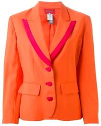 Blazer arancione di Kenzo