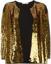 Blazer con paillettes dorato di Mes Demoiselles