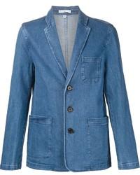 Blazer di jeans blu