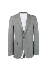 Blazer di lana a quadri grigio di Calvin Klein 205W39nyc