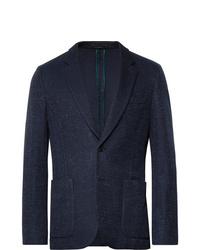 Blazer di lana blu scuro di Paul Smith