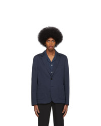 Blazer di lana blu scuro di Ps By Paul Smith