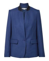 Blazer di lana blu di Stella McCartney