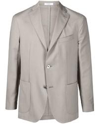 Blazer di lana grigio di Boglioli