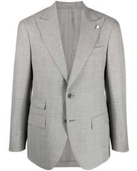 Blazer di lana grigio di Luigi Bianchi Mantova
