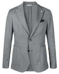 Blazer di lana grigio di Manuel Ritz