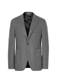 Blazer di lana grigio di Salle Privée