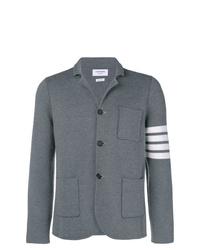 Blazer di lana grigio di Thom Browne
