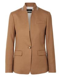 Blazer di lana marrone chiaro di J.Crew