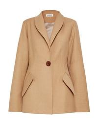 Blazer di lana marrone chiaro di Materiel