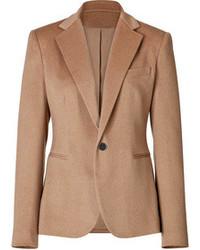 Blazer di lana marrone