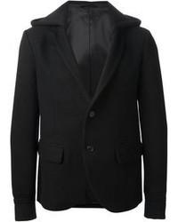 Blazer di lana nero