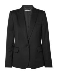 Blazer di lana nero di Stella McCartney