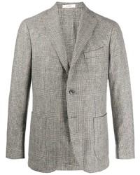 Blazer di lana scozzese grigio di Boglioli