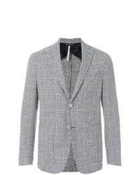 Blazer di lana scozzese grigio di Entre Amis