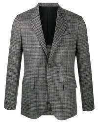Blazer di lana scozzese grigio di Ermenegildo Zegna