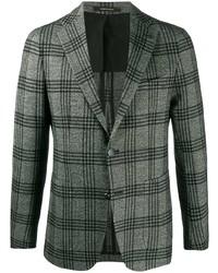Blazer di lana scozzese grigio di Tagliatore