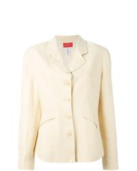 Blazer di lino beige di Kenzo Vintage