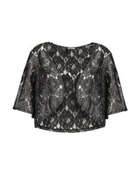 Blazer di pizzo nero di Miss Selfridge