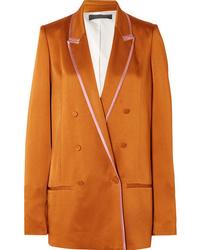 Blazer doppiopetto arancione di Haider Ackermann