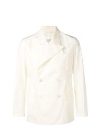 Blazer doppiopetto bianco di Maison Margiela